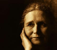 Foto de Doris May Tayler (Doris Lessing)