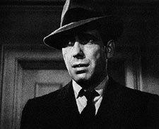 "Humphrey Bogart como Marlowe en  ""The Maltese Falcon"" (1941), John Huston"