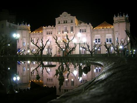 El antiguo Casino Municipal de Huesca
