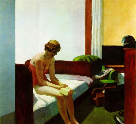 "Edward Hopper, ""Hotel Room"", 1931"
