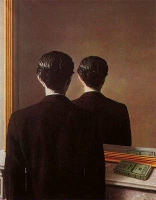"René Magritte, ""La reproduction interdite"", 1937"