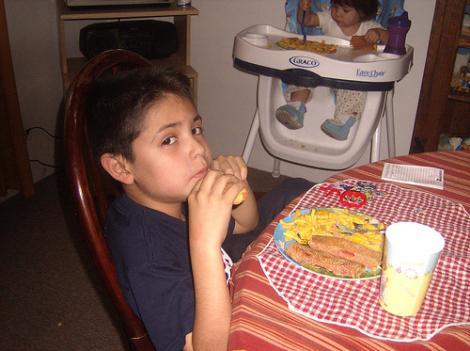 Alimentos sin niños · El Boomeran(