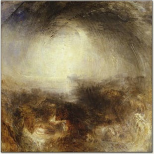 "J.M.W. Turner, ""The Evening Before the Deluge"", 1843"