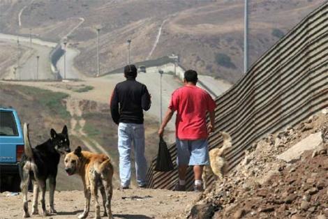 la frontera de estados unidos:
